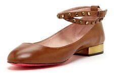 Betsey Johnson Caddy cognac  flats women's size 7 m