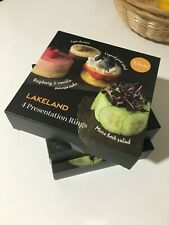 LAKELAND 12 presentation rings mousse 7.5cm
