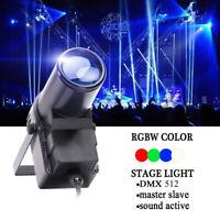 U`King LED Spotlight RGBW 30W Stage Lighting Pinspot Beam Disco DMX512 Party KTV