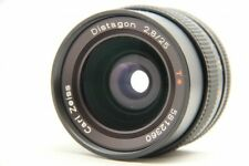 Exc++ CONTAX Carl Zeiss Distagon T* 25mm f/2.8 f 2.8 AEG Lens from Japan #1653