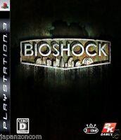 Used PS3  Bioshock SONY PLAYSTATION 3 JAPAN JAPANESE IMPORT