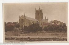 Worcester Cathedral from S.W. Postcard, B484