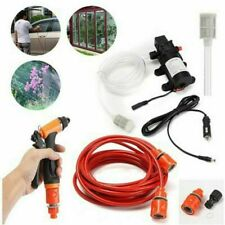 12V 100W 160PSI 5 Spray Modes High Pressure Car Electric Washer Gun Pump Hose US