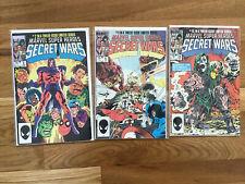 MARVEL SUPER HEROES SECRET WARS #2, 9, 10 (Marvel) Keys