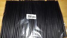 Jumbo -Trinkhalme Strohhalme 250x8mm für Cocktail Longdrink Bar Slush 1000 Stück