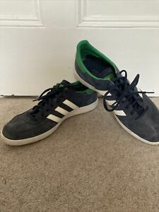 Adidas Handball Spezial Trainers Blue And Green Size UK 12