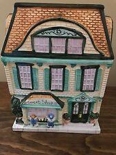 1999 Sherwood Brands Sweet Shop & Victorian House Cookie Jar