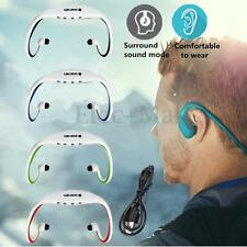 Sport Wireless Headset MP3 Music Player FM Radio Headphone Micro SD Ear Loop USB