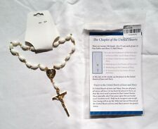 Chaplet/Rosary of United Hearts Sacred Heart of Jesus & Immaculate Heart of Mary