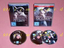 2x Fifty Shades Of Grey - Geheimes Verlangen & Gefährliche Liebe _Sehr gut.Zust.