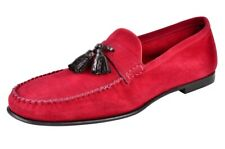Tom Ford  IT Shoes Men's   Suede  11 Loafers  Red