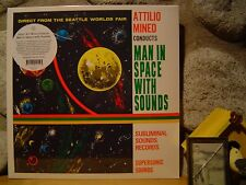 ATTILIO MINEO Man In Space With Sounds LP/51 Electronic/Tod Dockstader/John Cage