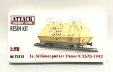 Attack Hobby Kits RESIN 1/72 German Train Le Schienenpanzer Steyer K2670-1943