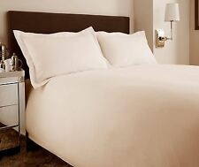 Luxury Cream Colour Hotel Style Striped Double Duvet, Quilt Cover Bed Set