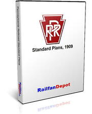Pennsylvania Railroad Standard Plans Diagrams - PDF on CD - RailfanDepot