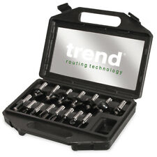 """Trend 15 piece starter router cutter set - SET/SS9X1/2TC - 1/2"""" Shank"""