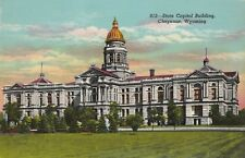 "*Wyoming Postcard-""The State Capital Building"" /Cheyenne/ (U1-123)"