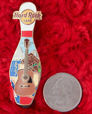 Hard Rock Cafe BOWLING PIN Logo GUITAR alley SLIDER BALL Logo NY lapel hat LE