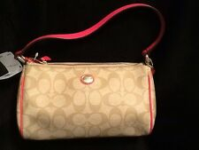 NWT COACH PEYTON SIGNATURE TOP HANDLE POUCH F51185 **SEE ALL MY ITEMS**