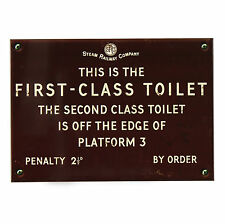 Toilet Vintage/Retro Decorative Door Signs/Plaques