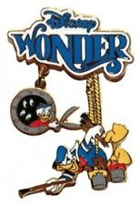 Disney Pin: Disney Cruise Line DCL Disney Wonder Dangle (Donald & Nephews)