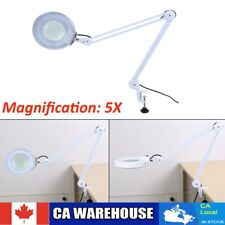 5X Magnifying Glass With Light LED LAMP Magnifier Foldable Stand Table