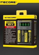 NiteCore i4 V2 Smart Charger For Li-i​on Battery 18650/CR123A/16340/18670/17500