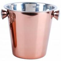 21cm Copper Champagne Bucket Party Wine Cooler Bucket Stainless Steel