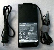 Genuine Lenovo ThinkPad 45N0117 170W 20V AC Adapter for W520 W530 45N0118 OEM