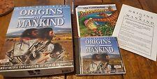 Origins Of Mankind Pc Cd learn man's history, ancestry, archeology, Biblical etc