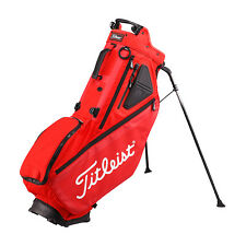 Titleist Japan Golf Caddy Carry Athlete Stand Bag 9.5inch TB7SX6 Red