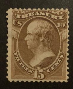 TDStamps: US Official Stamps Scott#O79 Mint HR OG Tiny Thin