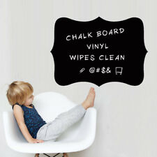 Vinyl Blackboard Wall Stickers Removable Chalkboard Decals Perfect Gift for Kids