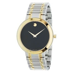 Movado 0607278 Men's Stiri Black Quartz Watch