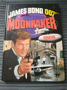 MOONRAKER JAMES BOND 007 GOOD USED ANNUAL-STYLE SPECIAL BY WORLD '79 ROGER MOORE