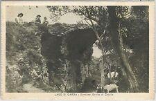 54720 -- CARTOLINA d'Epoca - LAGO di GARDA:  SIRMIONE Grotte di catullo CAVES