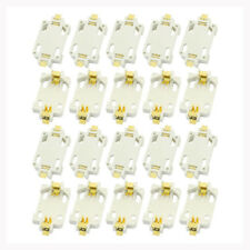 20pcs White Housing CR2032 SMD Cell Button Battery Holder Socket Case H4L6