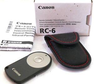 Genuine Canon Remote Controller RC-6 boxed MINT-