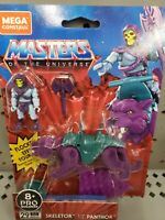 NEW SKELETOR and PANTHOR - MASTERS OF THE UNIVERSE MEGA CONSTRUX
