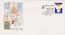 (ICN48) 1986 AU 36c Papal visit special cancel