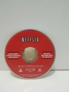 Netflix Instant Streaming Disc For PS3 Sony Playstation 3 Network 2009