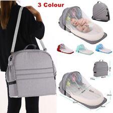 Baby Travel Bed Portable Mobile Crib Kid Nest Cot Newborn Multi-function Folding