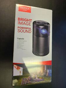 Brand New Anker Nebula Capsule Smart Wi-Fi Mini Projector Black 100 ANSI Lumen