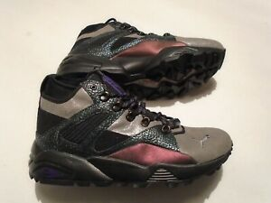 New Puma Blaze of Glory Boots Men's Size 10.5 Shoes 363297 01 Trinomic Leather