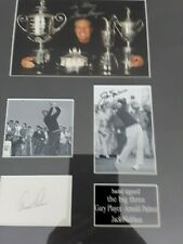 New listing Arnold Palmer Gary Player & Jack Nicklaus signed