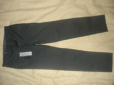 Lacoste Mens Straight Fit Black Stripe Dress Trousers  - F42 / UK33 BNWT