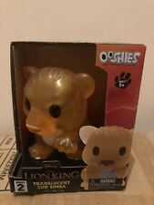 Woolworths Disney The Lion king ooshies series 2 large Translucent Cub  Simba