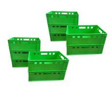 10 Stück E2 Stapelbox Gemüsekiste Vorratsbox Lagerbox lebensmittelecht hellgrün