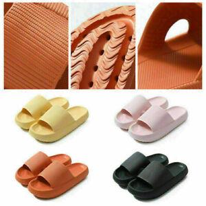PILLOW SLIDES Sandals Ultra-Soft Slippers Extra Soft Cloud Shoes Anti-Slip UK J1
