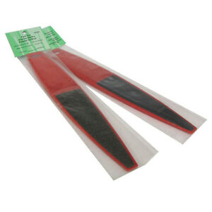 Dual Sided Pedicure Red Foot File 100/180 Grit Beauty Salon Spa Quality Files